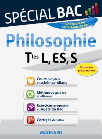 Special Bac; Philosophie ; Terminales L, Es, S