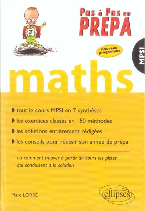 Mathematiques 1ere Annee Mpsi