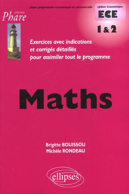 Mathematiques Ece 1e Et 2e Annee