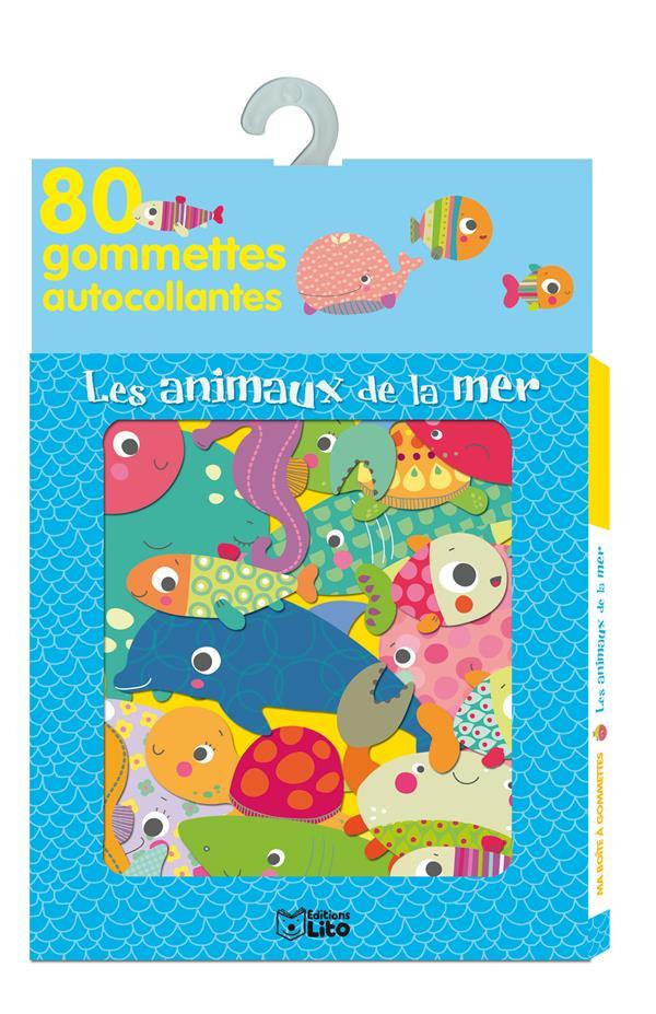 Boite A Gommettes ; Les Animaux De La Mer