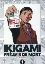 Couverture de Ikigami - Série en 5 tomes