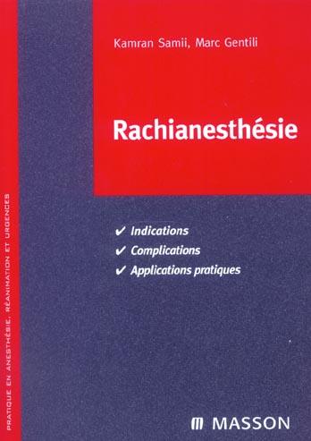 Rachianesthesie