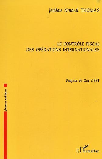 Le Controle Fiscal Des Operations Internationales