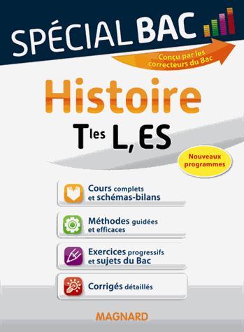Special Bac; Histoire ; Terminales L, Es