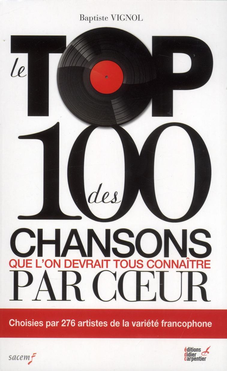 Le Top Des 100 Chansons Qu'On Devrait Tous Connaitre Par Coeur
