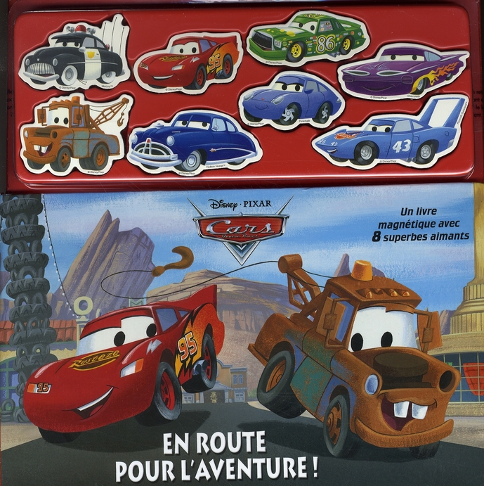 Cars, Livre-Magnets