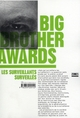 BIG BROTHER AWARDS, LES SURVEILLANTS SURVEILLES
