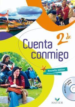 Cuenta Conmigo; Espagnol ; 2nde ; Livre De L'Eleve (Edition 2009)