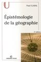EPISTEMOLOGIE DE LA GEOGRAPHIE