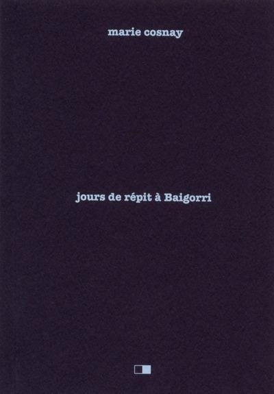 Jours de répit à Baigorri