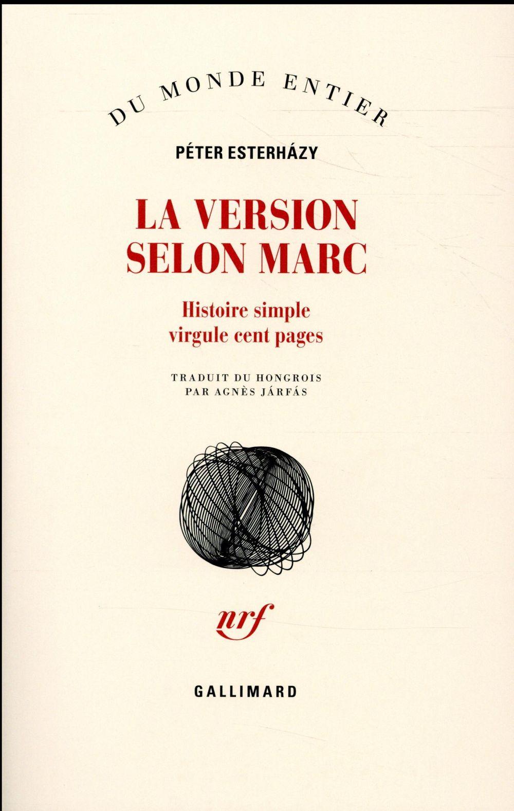 LA VERSION SELON MARC