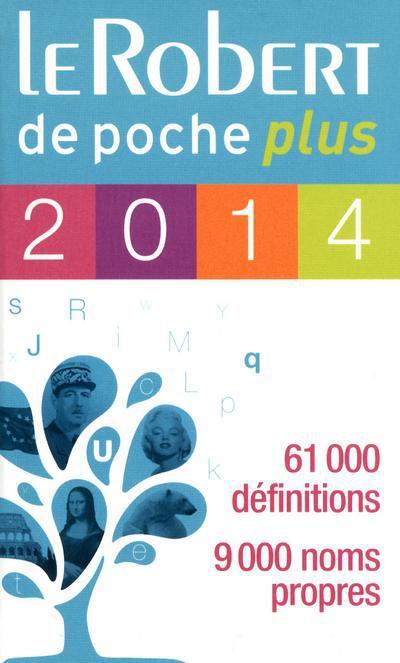 Le Robert De Poche Plus (Edition 2014)