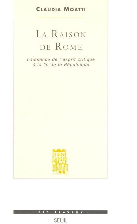 LA RAISON DE ROME