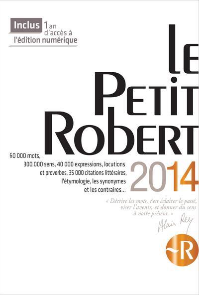 Le Petit Robert (Edition 2014)