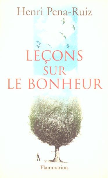 LECONS SUR LE BONHEUR