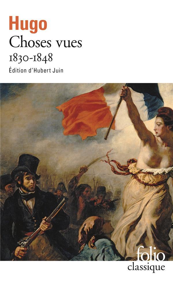 CHOSES VUES 1830-1848