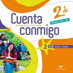 Cuenta Conmigo; Espagnol ; 2nde ; Cd Audio Classe (Edition 2009)