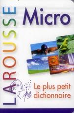 Dictionnaire Larousse Micro Francais