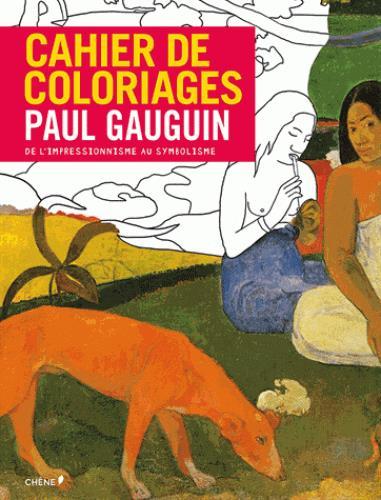 Cahier de coloriages Paul Gauguin