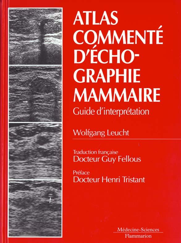 Atlas Commente D'Echographie Mammaire