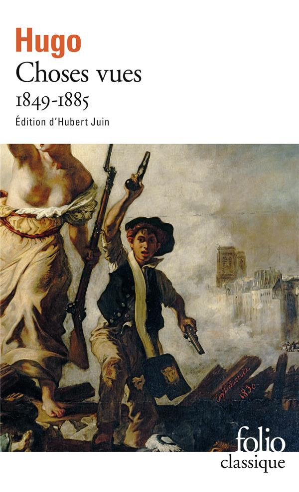 CHOSES VUES 1849-1885