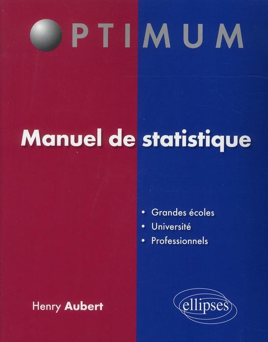 Manuel Statistique