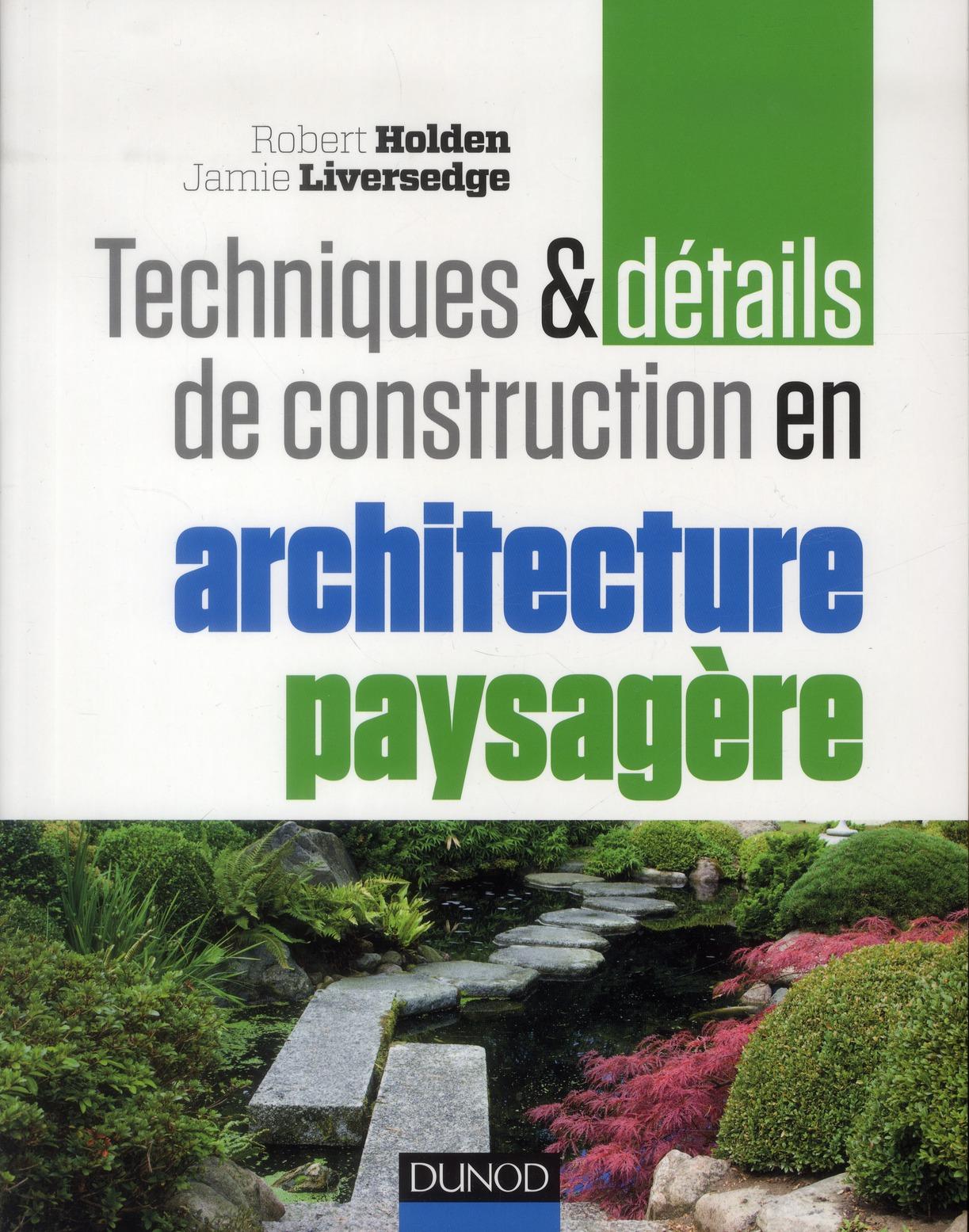 Techniques Et Details De Construction En Architecture Paysagere
