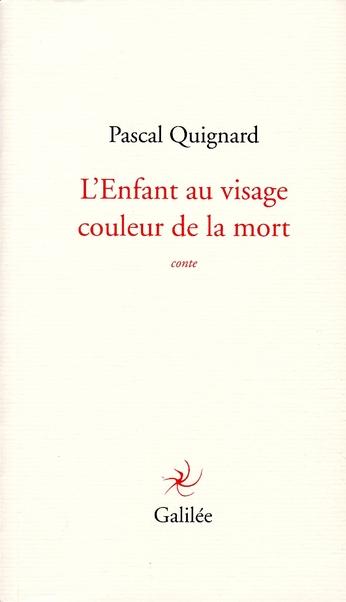 L'ENFANT AU VISAGE COULEUR DE LA MORT
