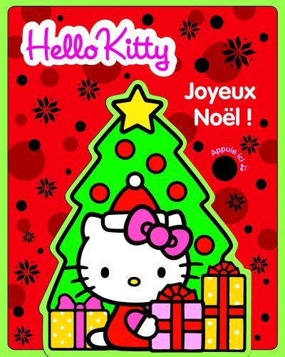 Joyeux Noel ; Hello Kitty ; Livre Mousse