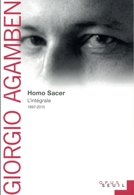 HOMO SACER : L'INTEGRALE 1997-2015