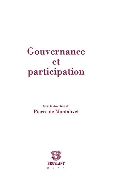 Gouvernance Et Participation