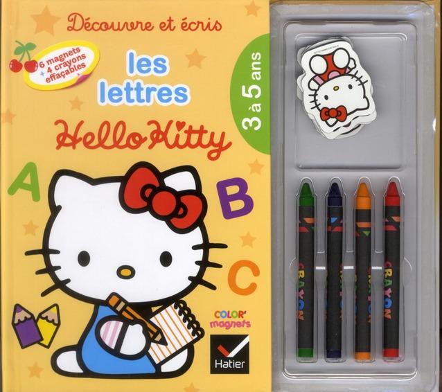 Decouvre Et Ecris Les Lettres Avec Hello Kitty