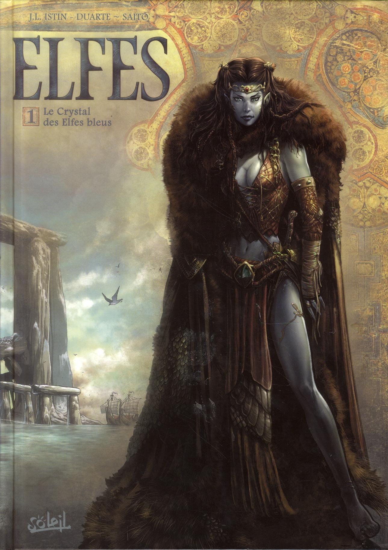 Elfes T.1 ; Le Crystal Des Elfes Bleus