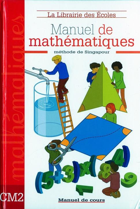 Mathematiques ; Cm2 ; Manuel De Cours