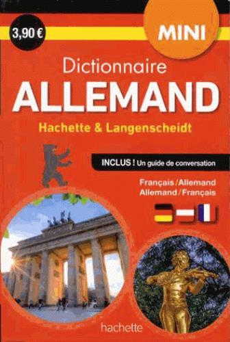Mini dictionnaire hachette langenscheidt ; bilingue allemand