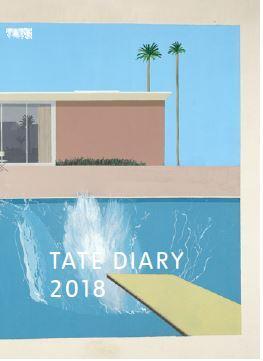 David Hockney Tate Pocket Diary 2018 /Anglais