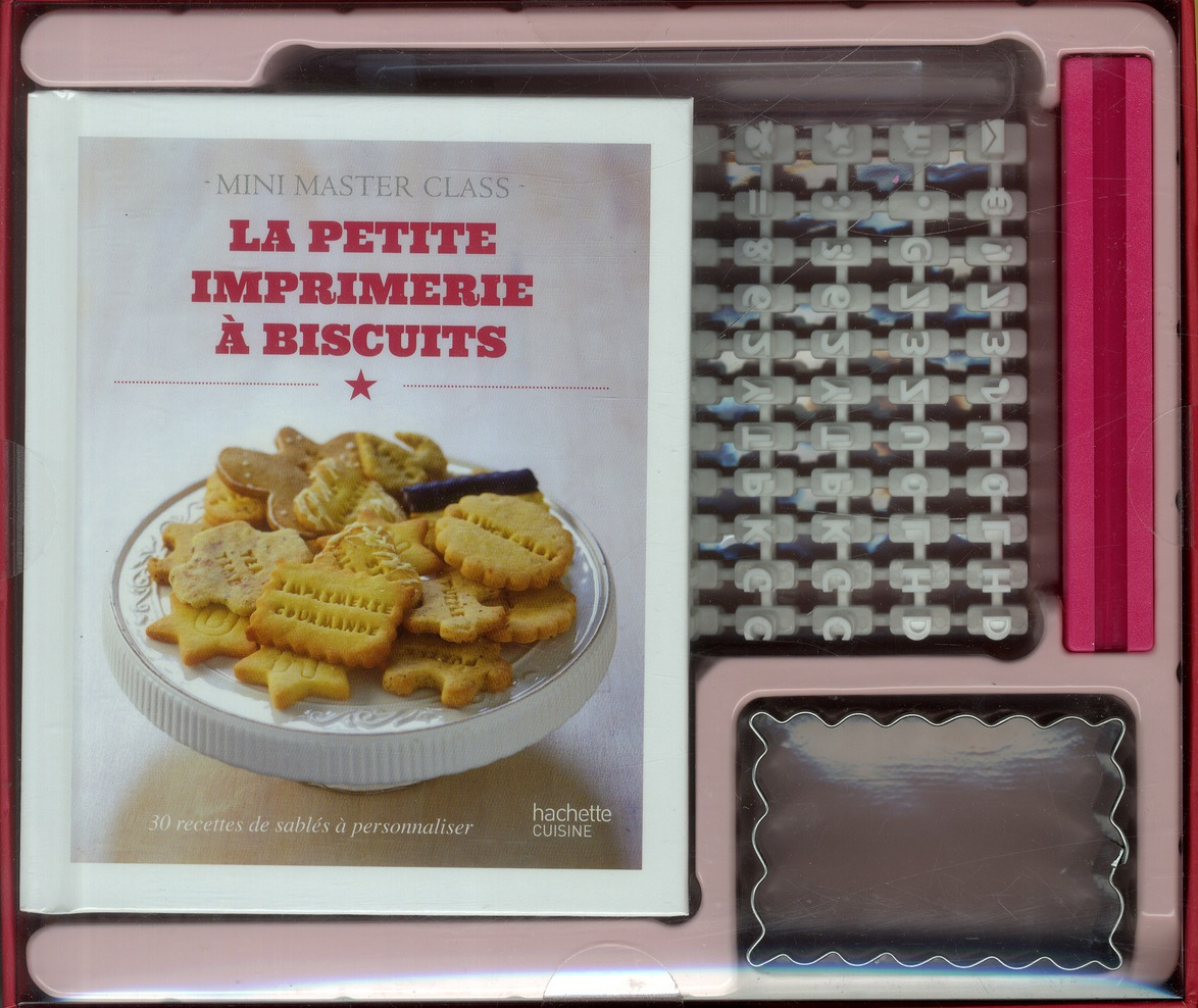 La Petite Imprimerie A Biscuits ; Coffret Mini Master Class