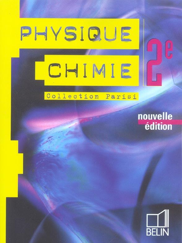 Physique Chimie 2e 2004 Eleve