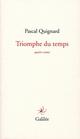 TRIOMPHE DU TEMPS
