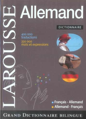 Grand Dictionnaire Francais-Allemand