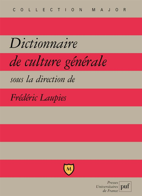 Dictionnaire De Culture Generale