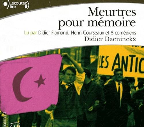 DIDIER DAENINCKX - MEURTRES POUR MÉMOIRE  [MP3 192KBPS]