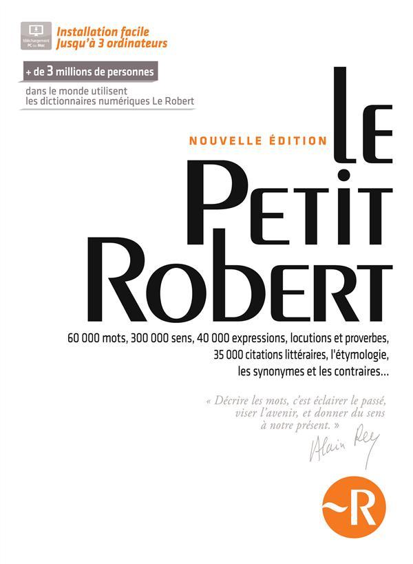 Le Petit Robert ; Coffret Numerique (Edition 2014)