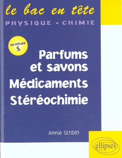 Parfums Et Savons Medicaments Stereochimie