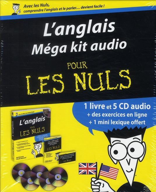 L'Anglais, Mega-Kit Audio Pour Les Nuls
