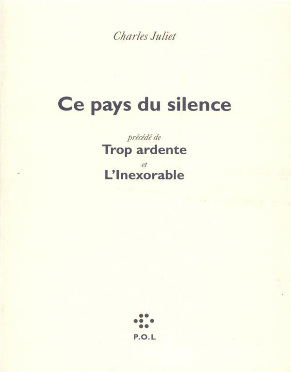 CE PAYS DU SILENCE