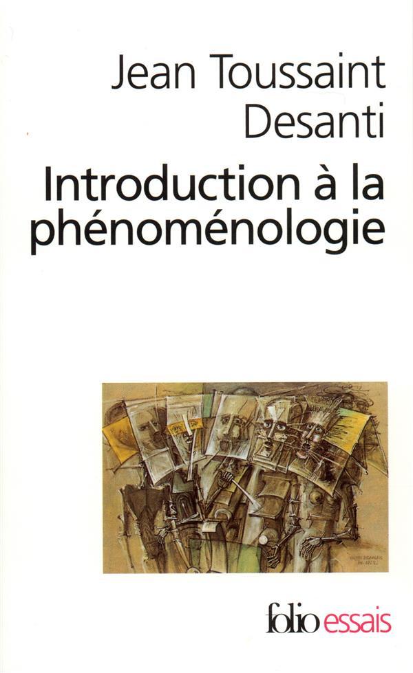 Introduction A La Phenomenologie