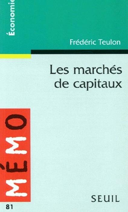 Marches De Capitaux (Les)