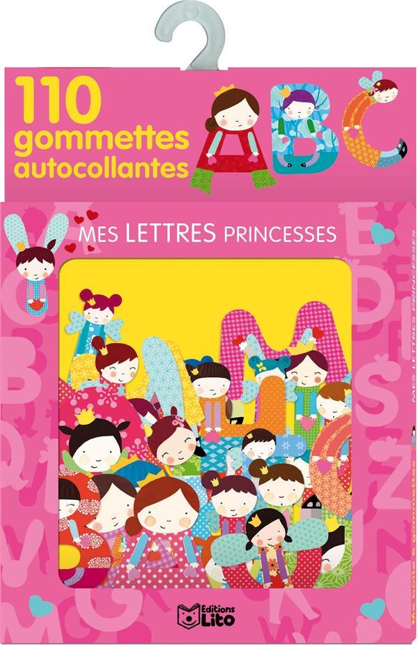 Ma Boite A Gommettes ; Mes Lettres Princesses