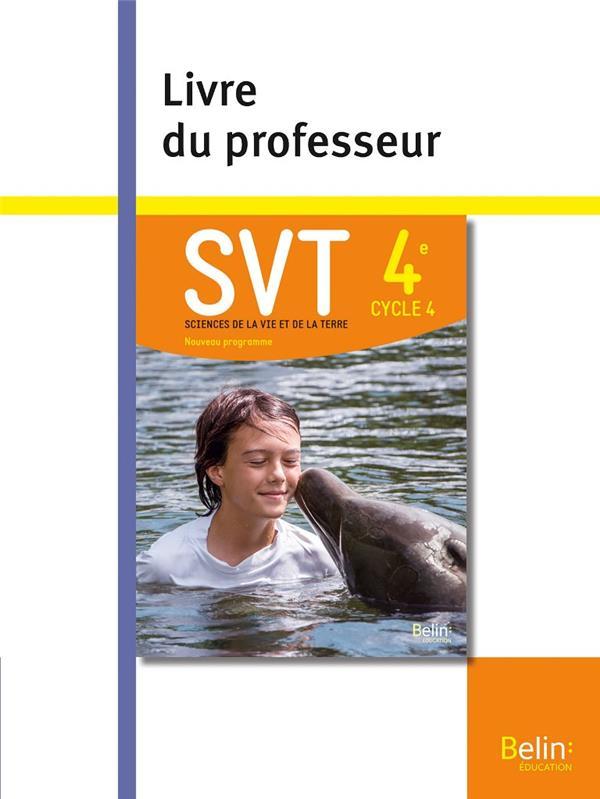 SVT ; 4e ; livre du professeur (édition 2017)